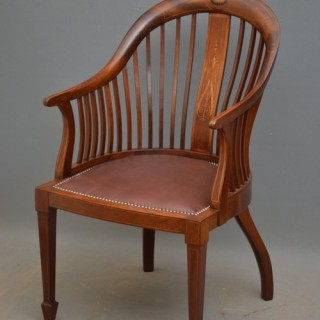 Elegant Edwardian Office Chair