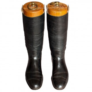 A Pair Of Parade Cavalry Boots