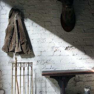 A Fine Victorian Gothic Revival Brass & Oak Umbrella/Stick Stand c.1870-90