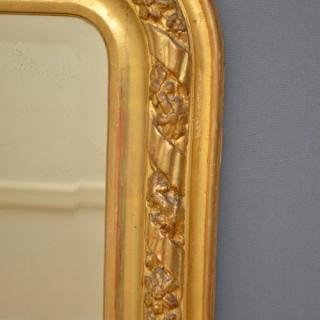 XIX Century Giltwood Mirror
