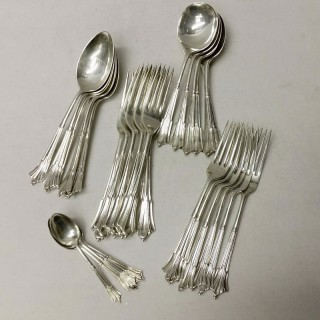 Canteen of Silver Cutlery for 6