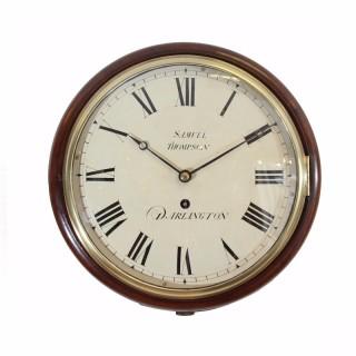 Passing Strike dial clock, Samuel Thompson of Darlington