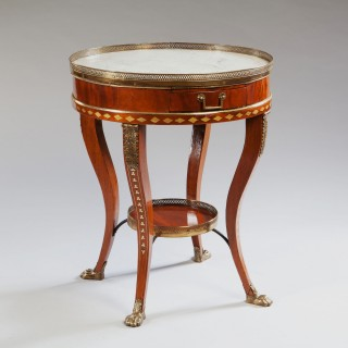 GUERIDON TABLE IN THE MANNER OF J.J CHAPUIS