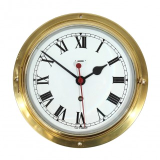 Ships Clock with centre seconds