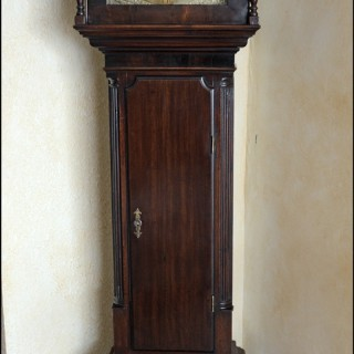 A small late 18th century 30-hour  Longcase Clock