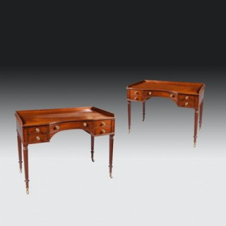 Pair of Writing Tables by Gillows