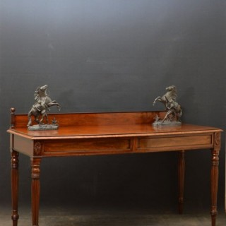 Regency Mahogany Serving Table - Mahogany Server