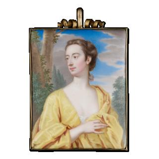 Portrait enamel of a Lady, c.1710-15