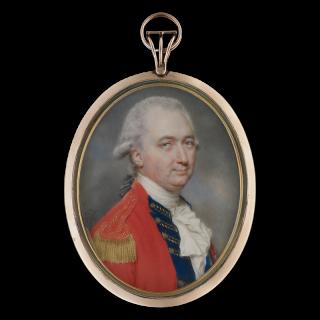 Portrait miniature of Charles Cornwallis, 1st Marquess Cornwallis KG, 1786