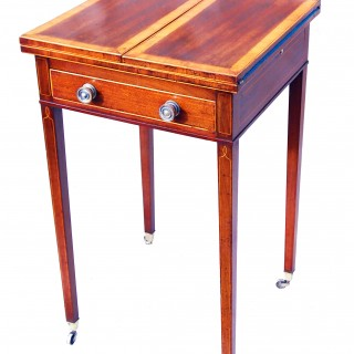 Antique Georgian Mahogany Patience Table