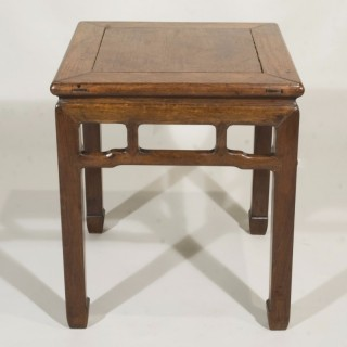 An 18th Century Chinese Hardwood Side Table