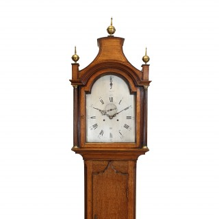 8-Day Oak Longcase Clock by Yates, London