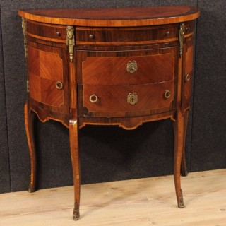 20th Century French Demi Lune Dresser