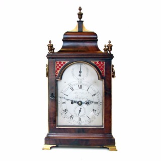 George III Fusee Bracket clock by Robert Wood, London