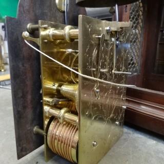 George III Fusee Bracket clock by Robert Wood, London