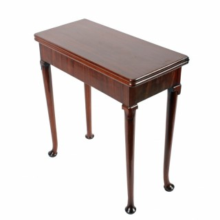 Petit George II Card Table