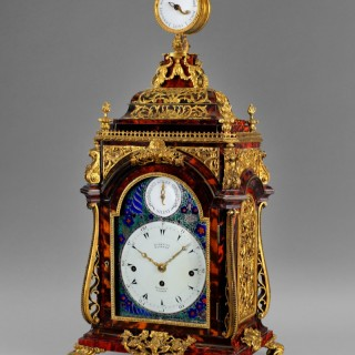 A magnificent late 18th century musical clock by Henry BORRELL, LONDON