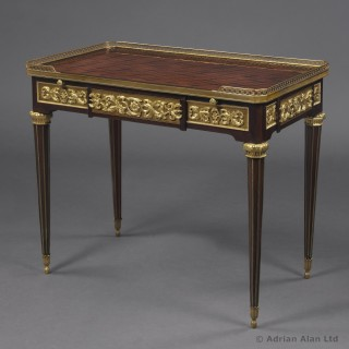 Louis XVI Style Centre Table After The Model By Jean-Henri Riesener