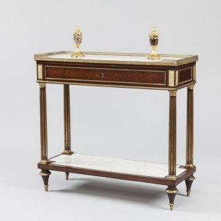 A French Console-Desserte of the Directoire Period