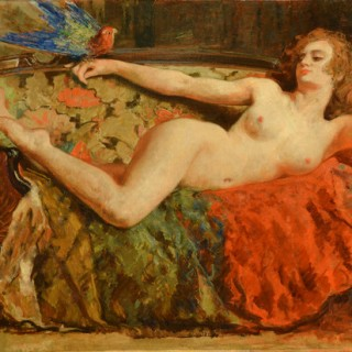 The Siren EMILE BAES (1879-1954)
