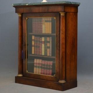 Regency Rosewood Pier Cabinet - Rosewood Bookcase