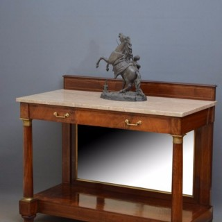Excellent Continental Mahogany Console Table