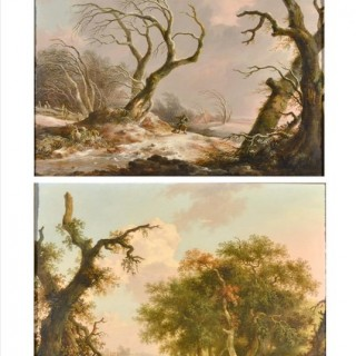Winter & Summer Landscapes ANDRIES VERMEULEN (MEULEN) (1763-1814)