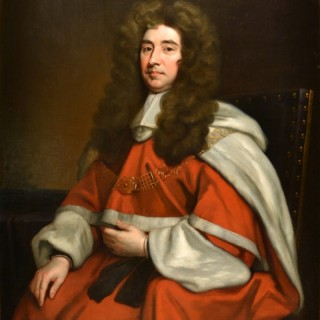 Sir Edward Ward by SIR GODFREY KNELLER AND STUDIO (1646-1723)