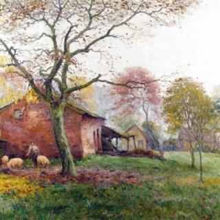 Autumn Mists JEF DUTILLEUX (1876-c.1940)