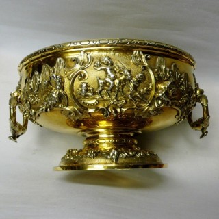 Antique Georgian Silver Wine Cistern