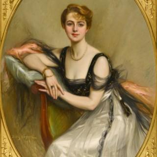 Portrait of a Lady JULES CAYRON (1868-1940)