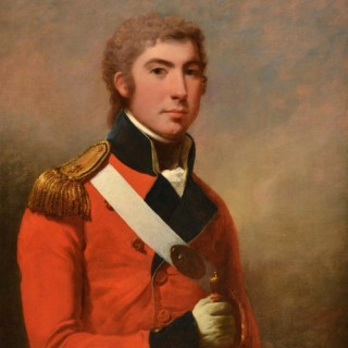 Portrait of an Officer ARTHUR WILLIAM DEVIS (1762-1822)