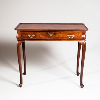 A VERY RARE MID 18TH CENTURY ROSEWOOD SILVER TABLE