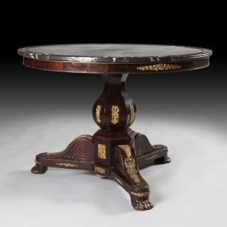 A FINE 19TH CENTURY GUERIDON TABLE