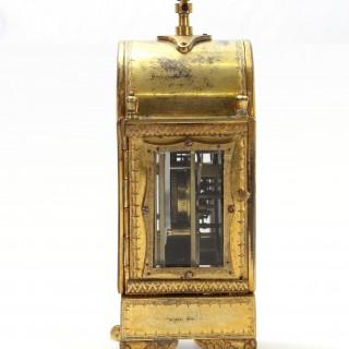 Grande Sonnerie Pendule d'Officier, by Schmidt of Prag