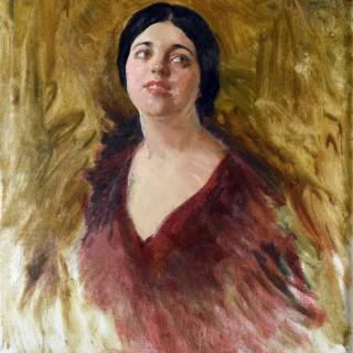 Rosa Pouselle JOHN DA COSTA (1867-1931)