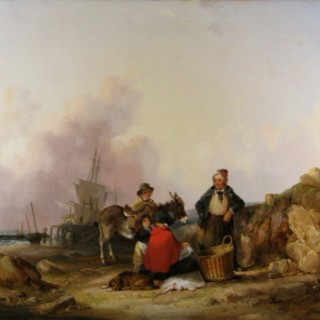 Fisherfolk on the Hampshire Coast