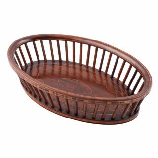 Mahogany Bread Basket