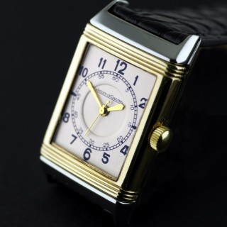 Jaeger Le Coultre Reverso, Gold & Stainless Steel, 1937
