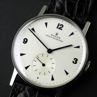 Stainless Steel Vintage Rolex Precision Watch c1945