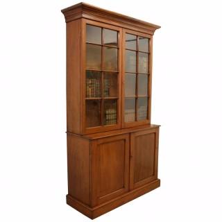 Georgian Style 2 Door Cabinet Bookcase