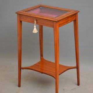 Edwardian Satinwood Bijouterie Table