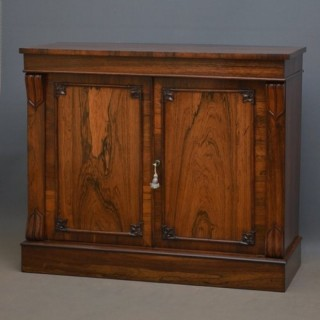 Elegant William IV Rosewood Chiffonier