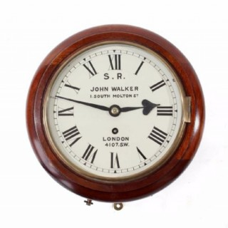 8 inch dial London and South Western Railway clock