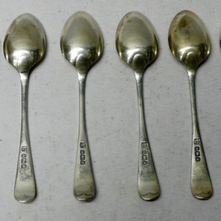 Antique Silver Tea Spoons