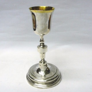 Antique Spanish Silver Chalice