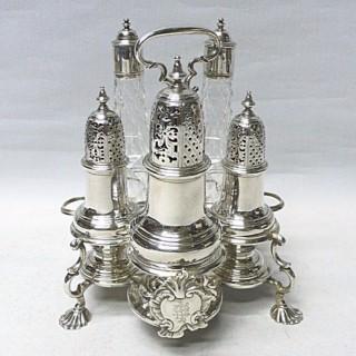 George II Silver Warwick Cruet