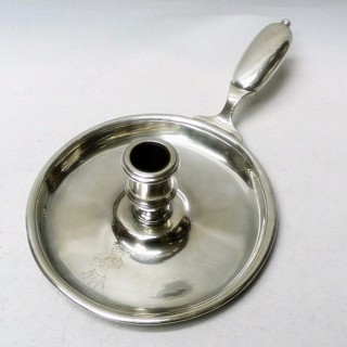 George I Silver Chamberstick