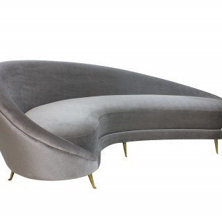 Curved Sofa By Parisi