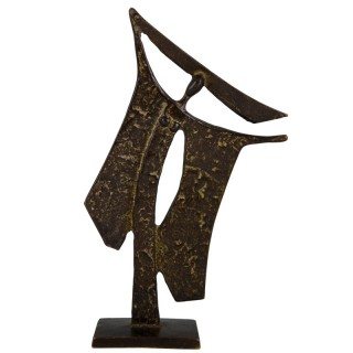 Bronze sculpture of a woman, 1960